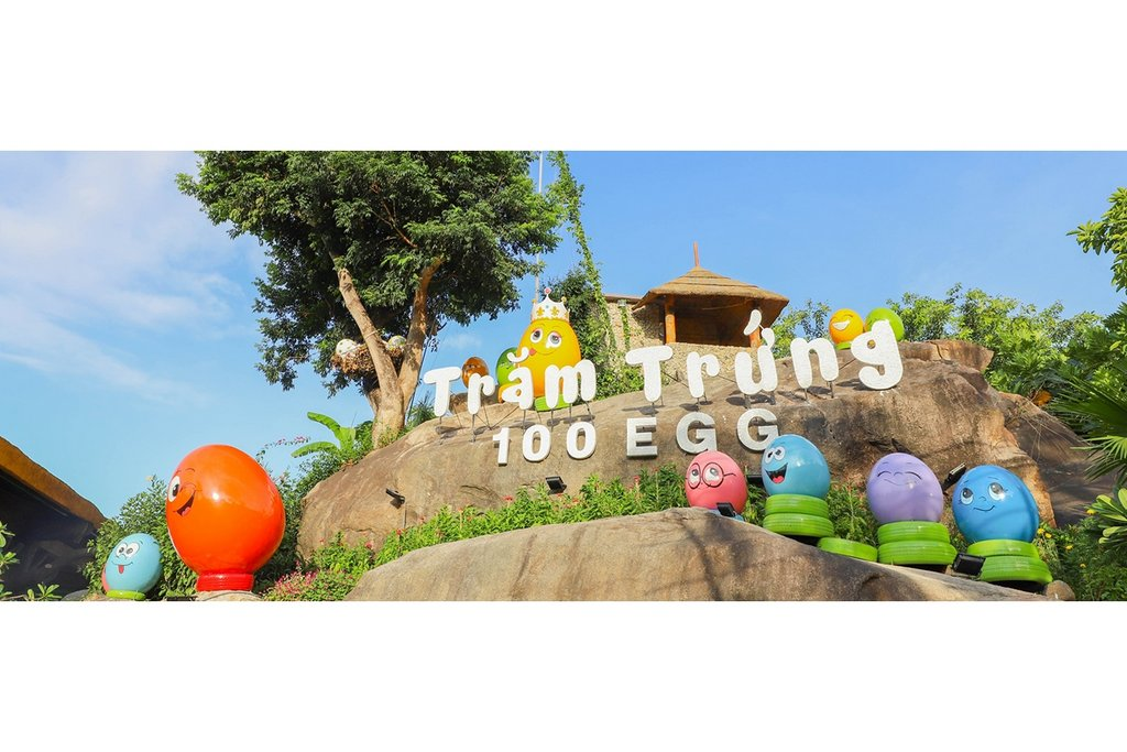 INTRODUCTION AT 100 EGG THEME PARK